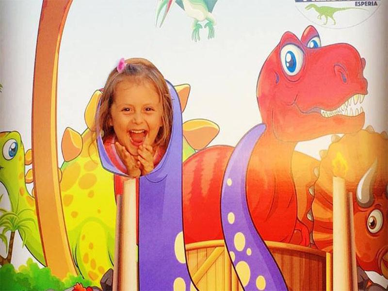 orme di dinosauro esperia