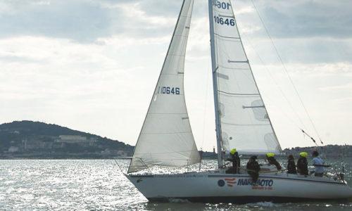 un giorno in barca a vela nel Golfo di Gaeta