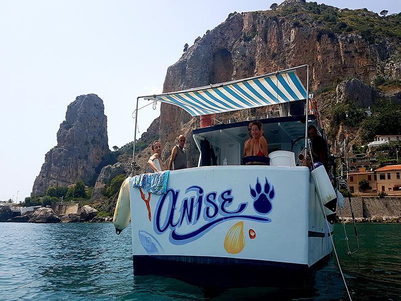 Pesca al largo di Terracina