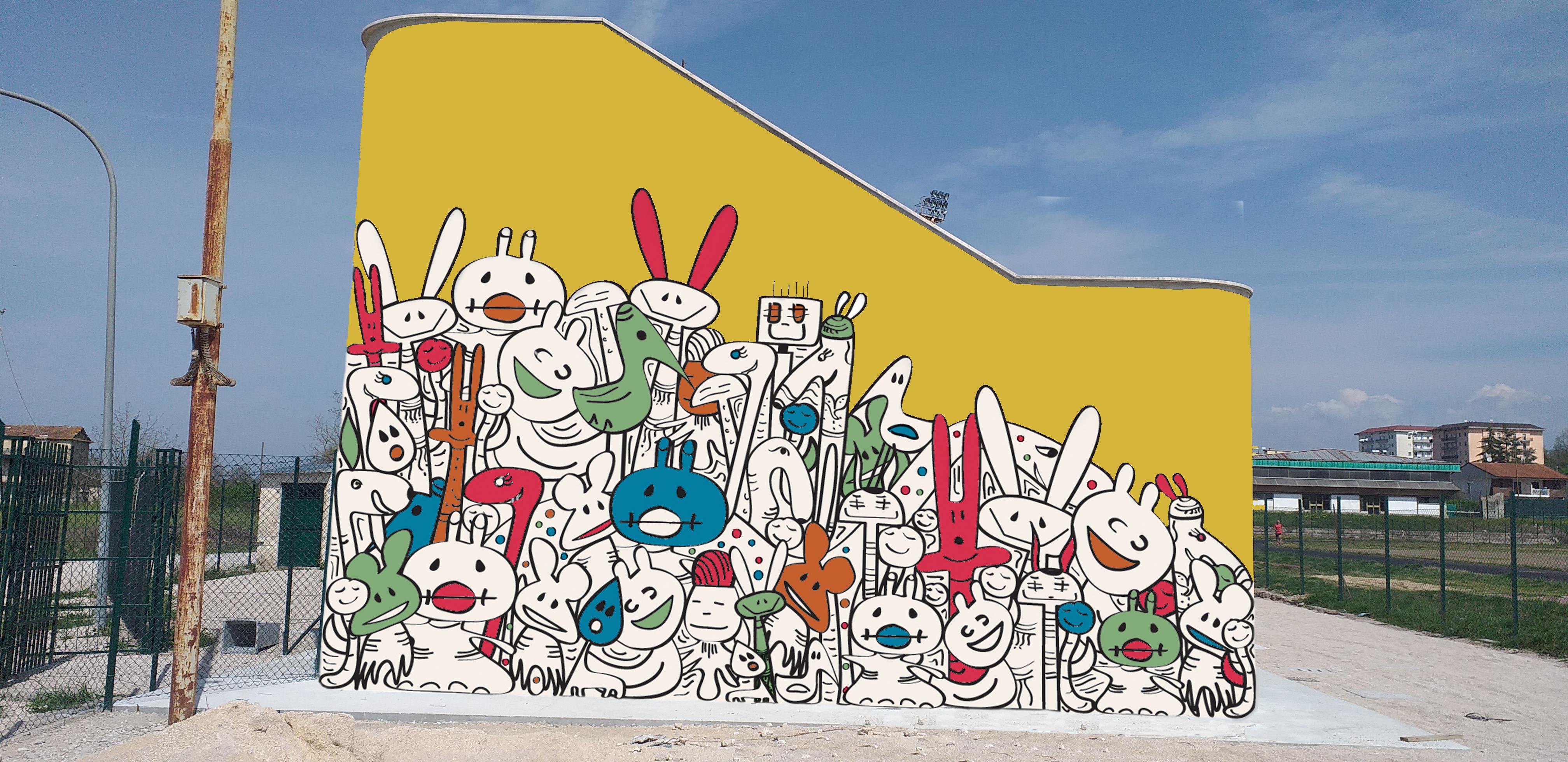 arte urbana pontecorvo
